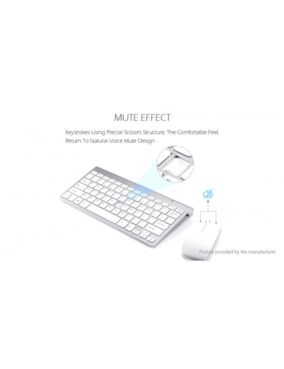 K108 2.4GHz Wireless Optical Keyboard + Mouse Combo