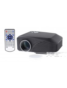 1000LM TFT LCD 800*600 Resolution 1000:1 Contrast Ratio LED Projector